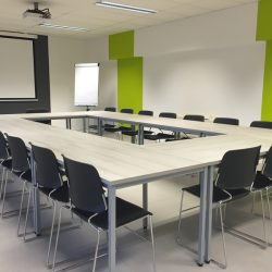 Who's driving meeting room transformation?